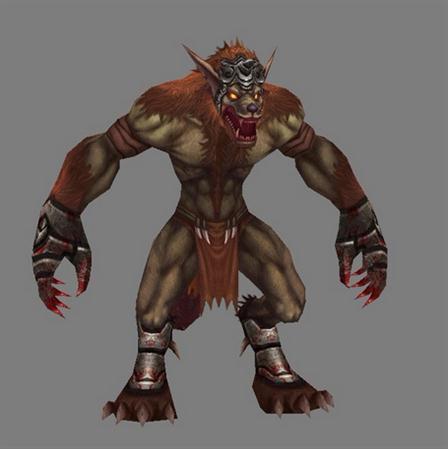 unity3d游戏模型Dexsoft Werewolf狼人(带动作)