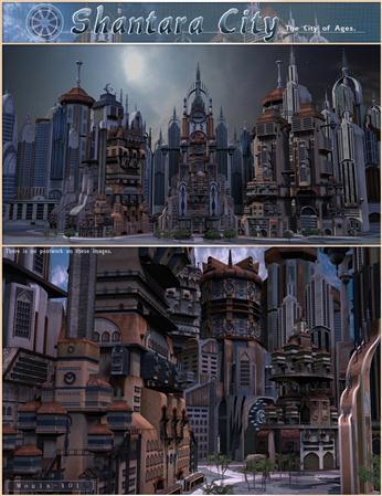 科幻城市 Shantara City