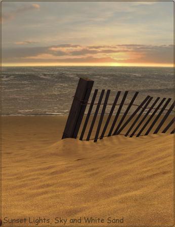 沙滩上的海浪 Waves on the Beach