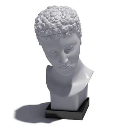 人物头部雕塑