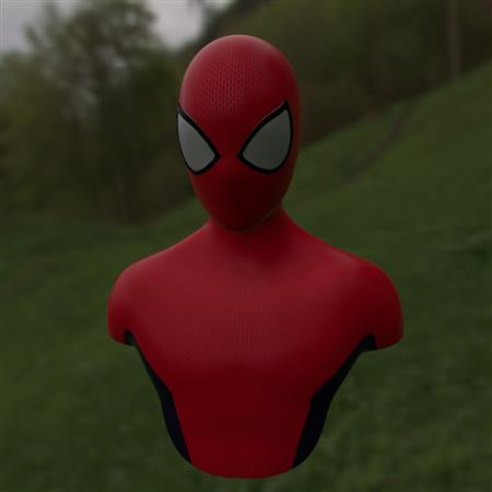 蜘蛛侠上半身