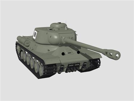 坦克IS-2