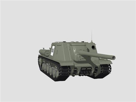 坦克ISU-122