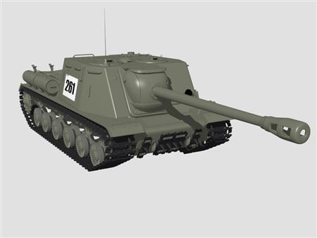 坦克ISU-122S