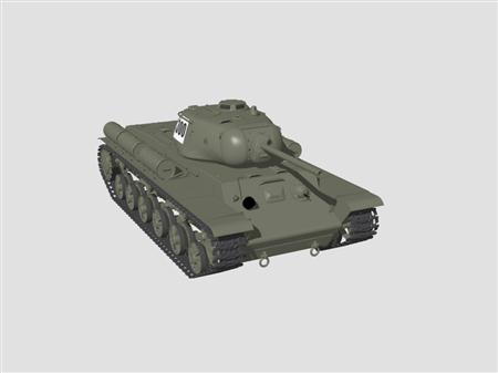 坦克KV-1S