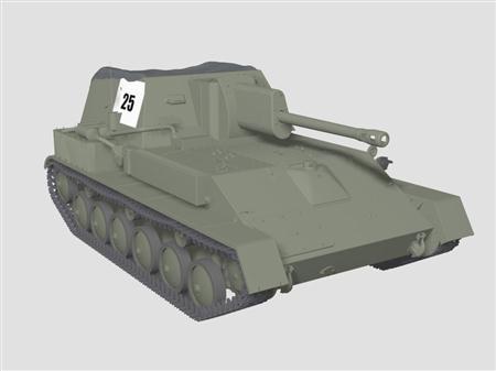 坦克SU-76M