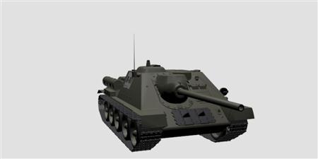 坦克模型SU-85