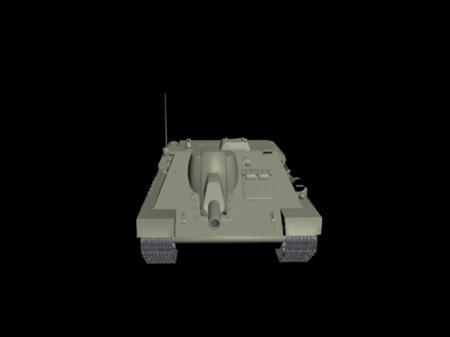SU-122坦克模型