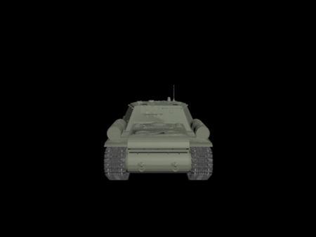 SU-152坦克模型