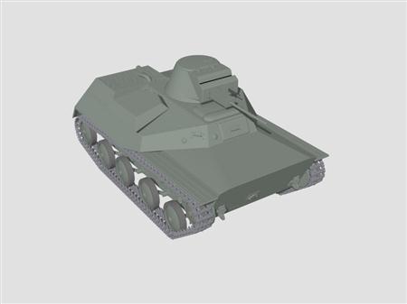 T-30坦克模型