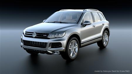 精品汽车系列 大众 Volkswagen Touareg hybrid