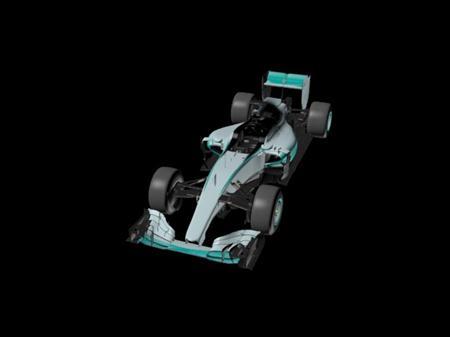 梅赛德斯奔驰FI赛车