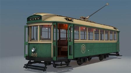 复古城市有轨电车 Tram Train 466