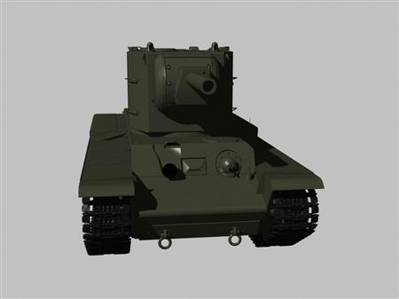 二战坦克KV2
