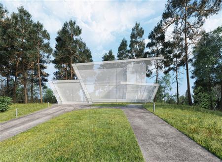 别墅住宅外墙场景3D模型第一季 外墙场景模型 场景2