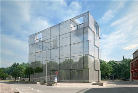 别墅住宅外墙场景3D模型第一季 外墙场景模型 场景10