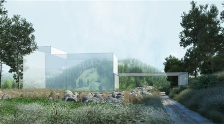 别墅住宅外墙场景3D模型第一季 外墙场景模型 场景9