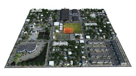 世界各地城市3D模型