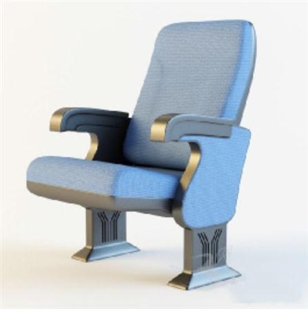 精美的蓝色椅子