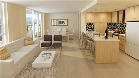 精美住宅家居套系 简约现代两室一厅小居室