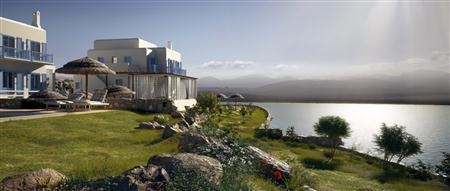 别墅住宅3D模型第二季 制作精美的欧洲别墅 场景1