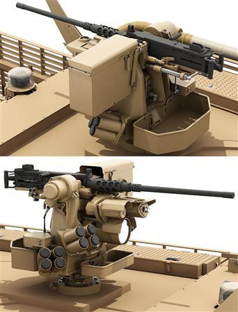 军事装备3D模型 保护者遥控武器站