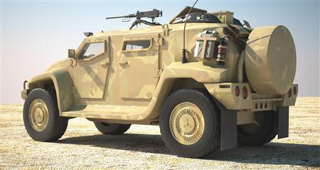 澳洲 Hawkei 陆战巡逻车