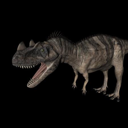 侏罗纪强势来袭 史前恐龙系列 角鼻龙