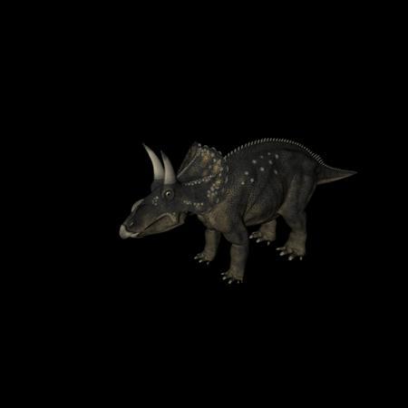 侏罗纪强势来袭 史前恐龙系列 双角龙