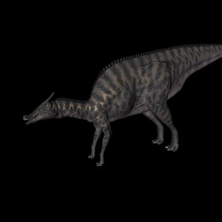 侏罗纪强势来袭 史前恐龙系列 蜥冠鳄