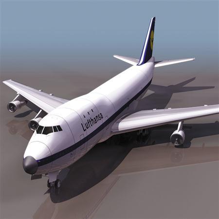 飞机3D模型系列 19-20世纪飞机历史博物馆 波音747