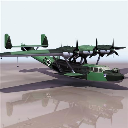 飞机3D模型系列 19-20世纪飞机历史博物馆 多尼尔飞机