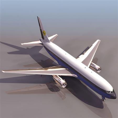 飞机3D模型系列 19-20世纪飞机历史博物馆 波音767