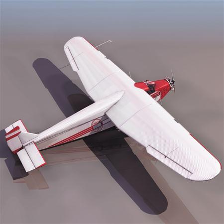 飞机3D模型系列 19-20世纪飞机历史博物馆 老式运输机