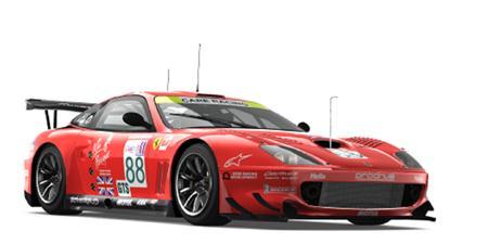 极限竞速赛车模型 2003 Ferrari 550 Maranello GTS #88 Veloqx - Prodrive Racing