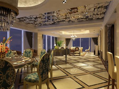西式室内设计餐厅客厅