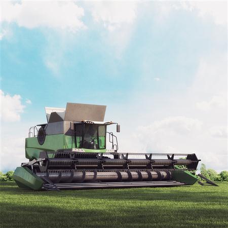 大型农用收割机