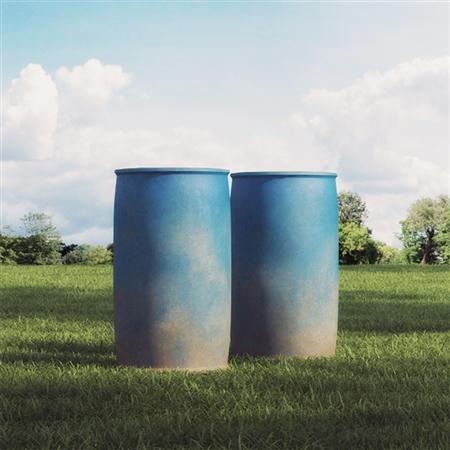 蓝色工业农业用桶