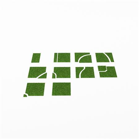 草坪地板路面