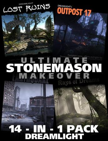 Ultimate Stonemason Makeover – 14-in-1 Bundle 最终石匠改造包