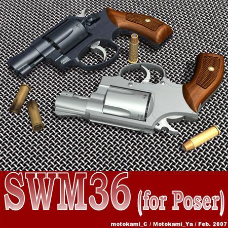 Renderosity SWM36 枪