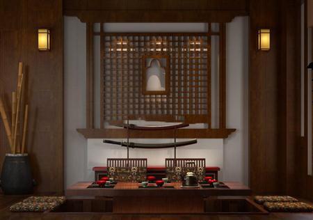 日式风格和室桌椅组合