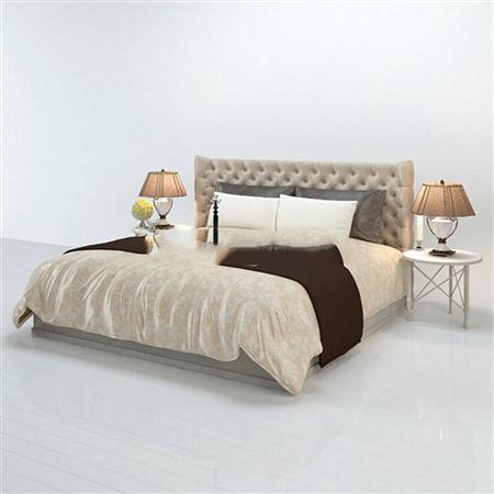 欧式简约床具3