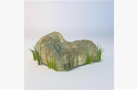 漂亮的石头3d模型
