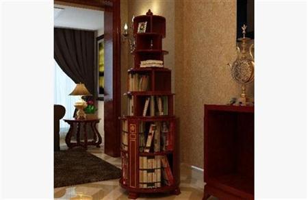 中式书柜 3D模型下载
