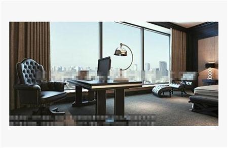 现代书桌 3D模型下载