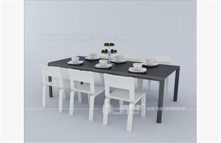 简约餐桌椅