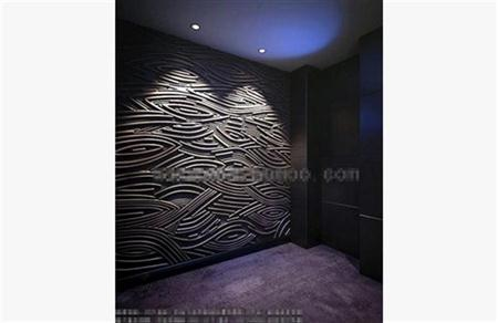 波浪造型墙
