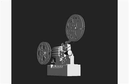 复古胶卷电影放映机
