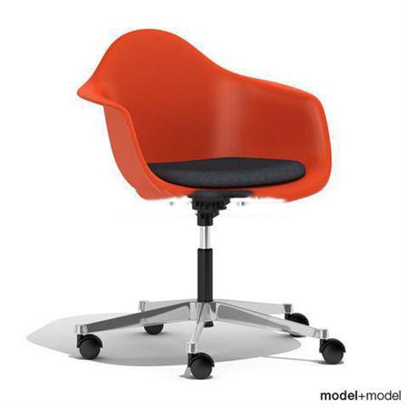 现代办公椅子 3D模型下载